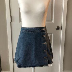 Pac sun Jean skirt